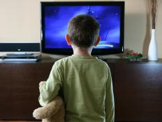 Computer animators may work on television programs for children.