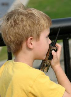 Walkie talkies qualify as a half-duplex communication system.