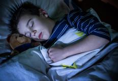 A condition called nocturnal enuresis may cause bedwetting in older children.
