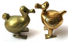 Historically, ormolu refers to a coating placed on brass items to make them look as though they are made of gold.