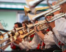 Brass band festivals celebrate brass instruments and ensembles.
