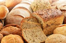 Barley flour can be used in combination with wheat flour in bread baking.