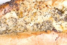 Poppy seeds are often sprinkled on the top of Afghan bread.