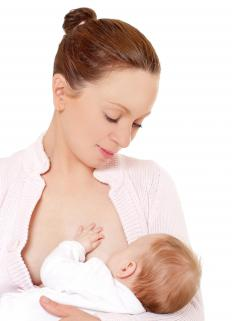 Breastfeeding is considered the healthiest way to feed a baby.