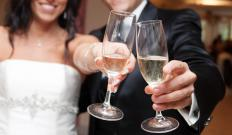 Toasts at a wedding may include an Irish Blessing to wish the new couple well on its marriage.