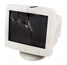 Disposing of broken electronic items is one facet of the recycling industry.