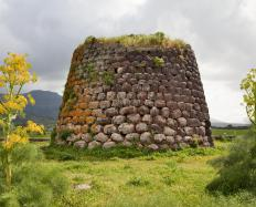A nuraghe, a bronze age structure in Italy.
