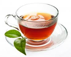 Tulsi tea is used in traditional Indian medicine.
