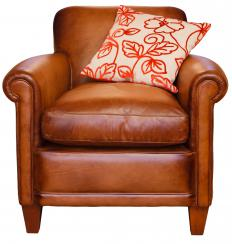 Think about whether you want an antique leather chair that will need to be restored or that's in ready-to-use condition.