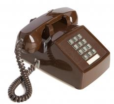 Speech recognition menus are often used with touch tone telephones.