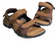 Sandals with extra support are better for walking.