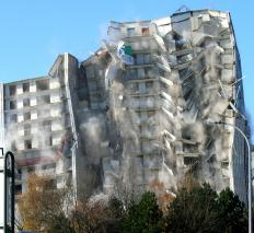 A permit is required for a demolition job.