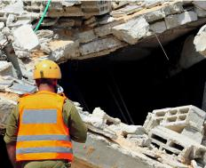 People should leave the actual work at a natural disaster site to professionals, such as teams from the Federal Emergency Management Agency.