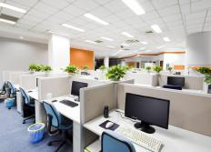 Perks like working in an office rather than a cubicle may contribute to employee turnover.