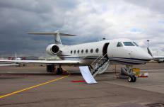 Corporate jets, which can be owned outright by a business or chartered, usually seat 6 to 14 passengers and can operate from short runways.