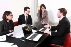 Arranging meetings is one aspect of most management assistant jobs.