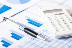 Charting financial data can make it easier to evaluate financial performance and position.