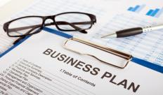 Financial backing is also necessary to start a business, and a financial institution will often request a business plan.