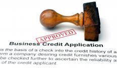 Loan underwriters evaluate a number of different applications including ones for business credit.