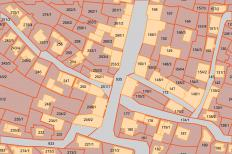 Cadastral maps provide detailed information about property within a specific area.