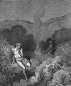 In a story told within the biblical Book of Genesis, Cain slew his brother Abel, whose sacrifices were favored by God.