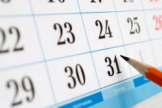 A company's ex-dividend is declared on a certain date on the ex-dividend calendar.