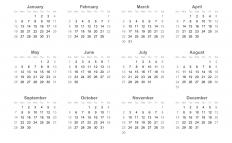 The widespread popularity of web calendars may soon diminish the need for paper calendars.
