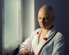 As chemotherapy progresses, many patients experience significant hair loss, and some develop painful sores inside the mouth.