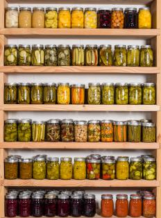 Mason jars are often used in home canning.