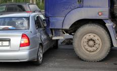 Someone convicted of vehicular manslaughter in a traffic accident could be ordered to pay restitution for the amount of money needed to repair or replace a damaged vehicle, as well as funeral costs for the person who died as a result of the accident.