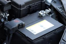 Testing a vehicle's battery is a type of auto diagnostic.