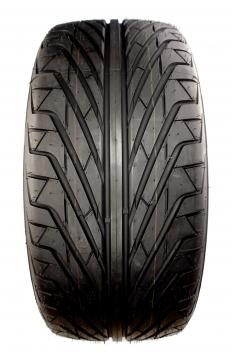 Radial automobile tire.