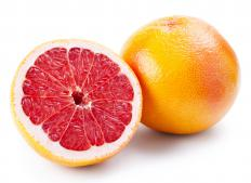 Cara cara oranges, a type of navel orange.