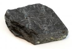 A piece of carbon, which is used to make carbon cathodes.