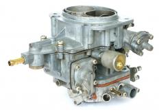 A carburetor ensures the proper mixture of gasoline and air enters an engine for combustion.