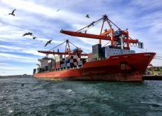 An ocean bill of lading is required for international shipments.