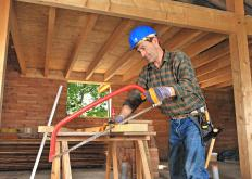 A carpenter's apprentice may act as an assistant to a carpenter while learning new skills.