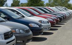 """Lower of cost or market"" is frequently used to assess the value of cars on a sales lot."
