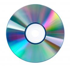 The content on a compact disc, such as an original work of music, can be copyrighted, while the disc itself cannot.