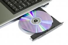 Most modern laptops can write data onto compact discs.