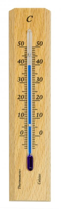 Celsius, previously known as Centigrade, is the measurement used in many European countries.