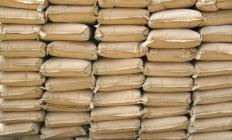 Cement powder is commonly made of limestone and clay and is a key ingredient of concrete.
