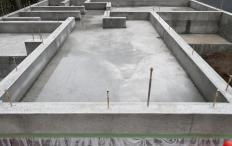 Concrete foundations can be strong and long-lasting, but they can also let water and gases seep in through small cracks that must be sealed to prevent leaks.