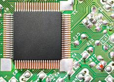 A Central Processing Unit (CPU) is the main microchip in a computer.