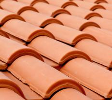 Ceramic roofing shingles can last for over a 100 years.