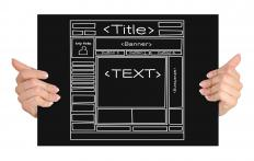 Web templates are predesigned and only lack content, such as text and photos.