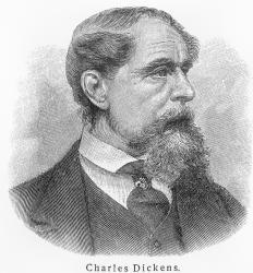 "British author Charles Dickens went ""from rags to riches"" during his lifetime."