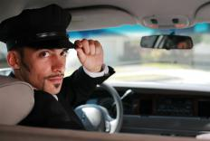 Executives often receive perks like chauffeured limousines.