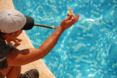 Building maintenance workers may be responsible for performing pool maintenance.