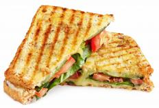 Foodies might like to make panini with a panini grill.